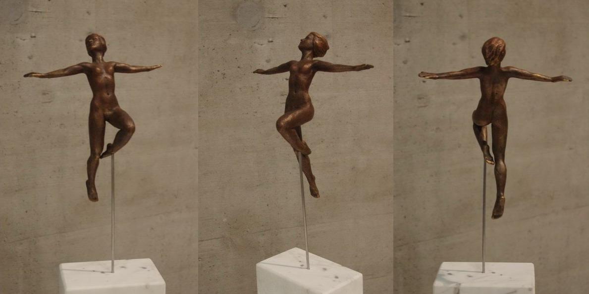Frei wie der Vogel1 Bronze Reinhold Bauer